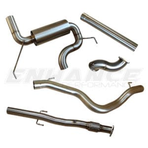 EP Corsa VXR 3″ Turbo Back Single Exit Exhaust System