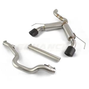 EP Corsa D VXR Ultimate Twin Exit Exhaust System