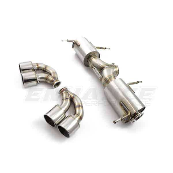 Nissan R35 GT-R Exhaust from Enhance Performance