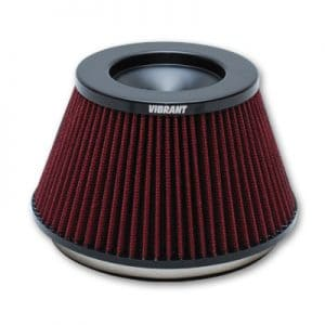Vibrant Performance 6″ Bellmouth Velocity Stack Filter
