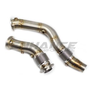 EP BMW M3 F80 Large Bore Decat Downpipes