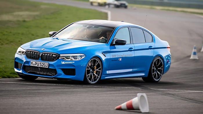 BMW Racing lines