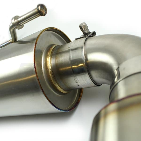 Ultimate GR Yaris Exhaust Close Up